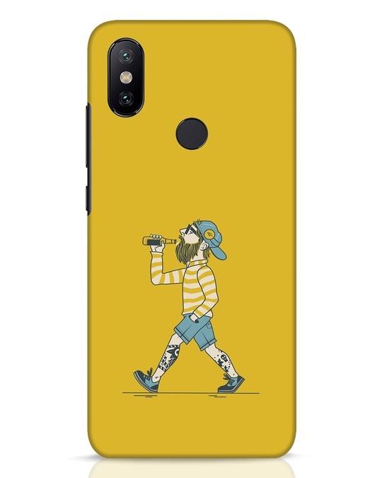 Shop Talli Boy Xiaomi Mi A2 Mobile Cover-Front