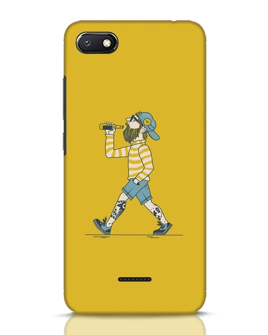 Shop Talli Boy Xiaomi Redmi 6A Mobile Cover-Front