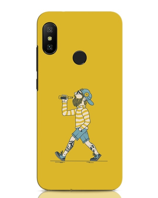 Shop Talli Boy Xiaomi Redmi Note 6 Pro Mobile Cover-Front