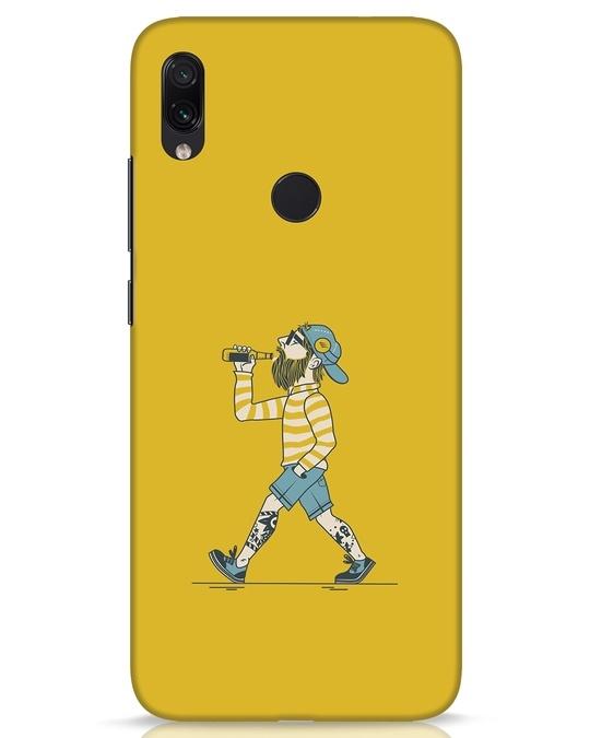 Shop Talli Boy Xiaomi Redmi Note 7s Mobile Cover-Front