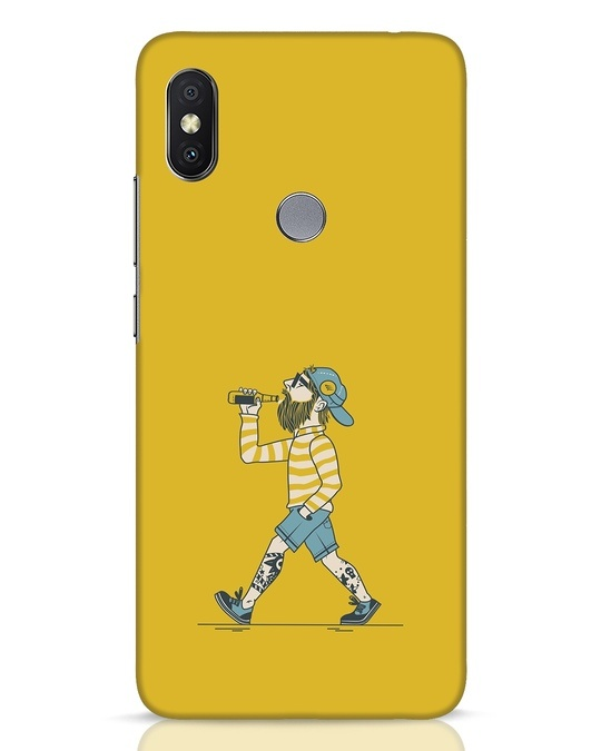 Shop Talli Boy Xiaomi Redmi Y2 Mobile Cover-Front