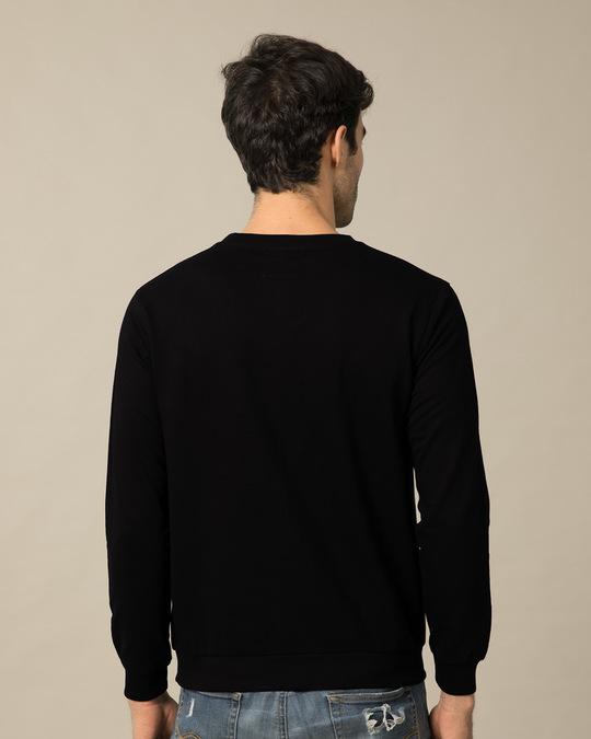Shop Targaryen Fire And Blood Fleece Light Sweatshirt (GTL)-Back