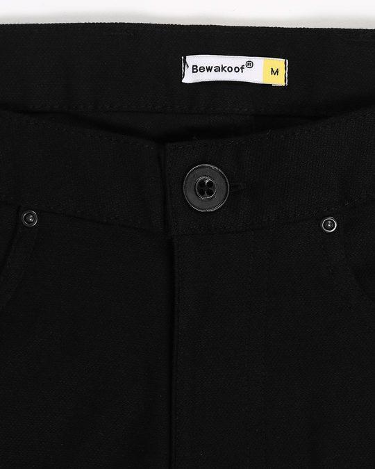 Shop Taupe Black Pants