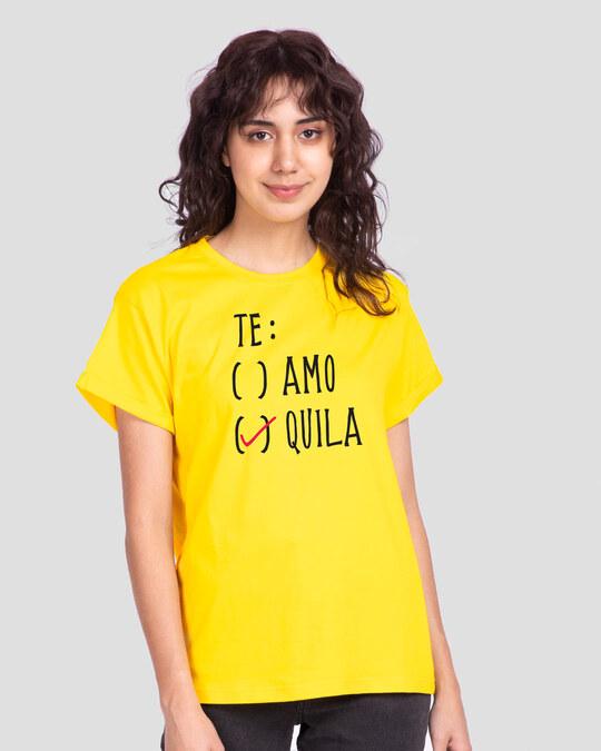 Shop Te-quila Boyfriend T-Shirt-Front