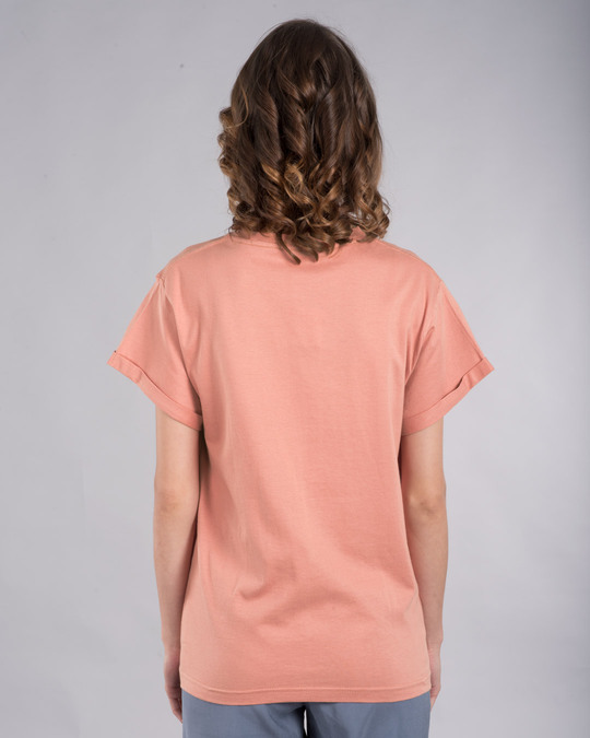 Shop Tea-amo Boyfriend T-Shirt-Back