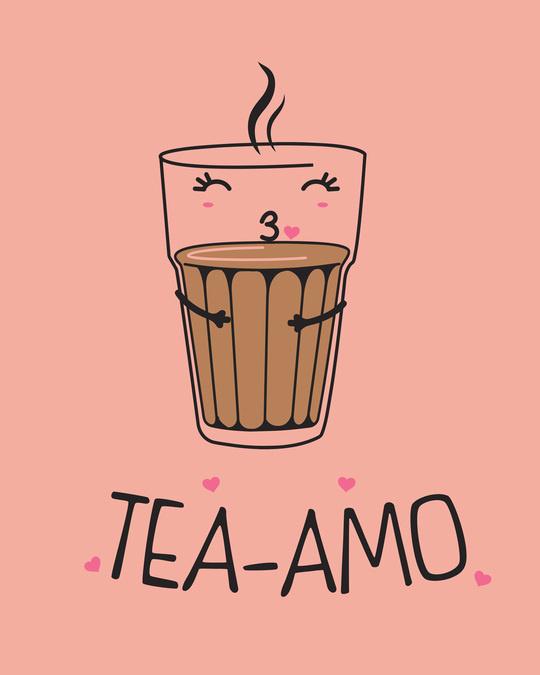 Shop Tea-amo Boyfriend T-Shirt