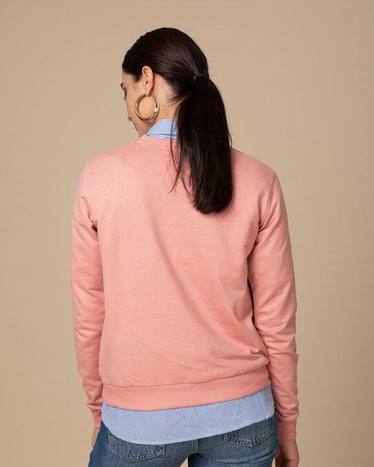 Shop Tea-amo Fleece Light Sweatshirt-Back