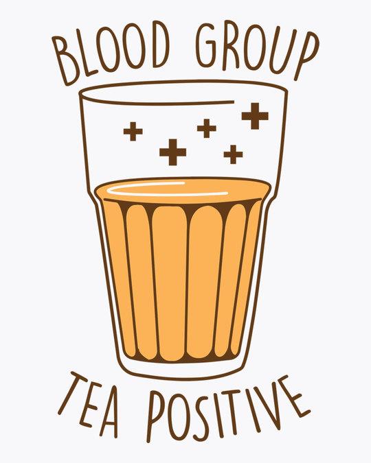 Shop Tea Positive Boyfriend T-Shirt