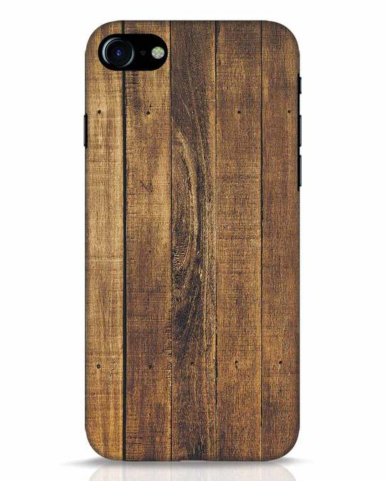 Shop Teak iPhone 8 Mobile Cover-Front