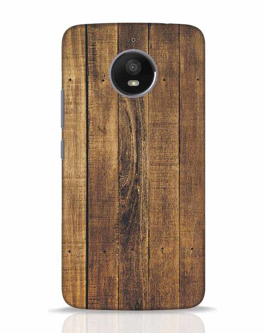 Shop Teak Moto E4 Plus Mobile Cover-Front
