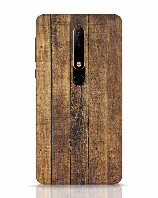 Shop Teak Nokia 6.1 Mobile Cover-Front