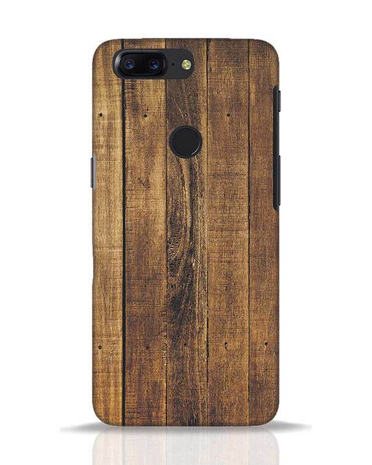 Shop Teak OnePlus 5T Mobile Cover-Front