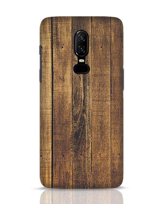Shop Teak OnePlus 6 Mobile Cover-Front