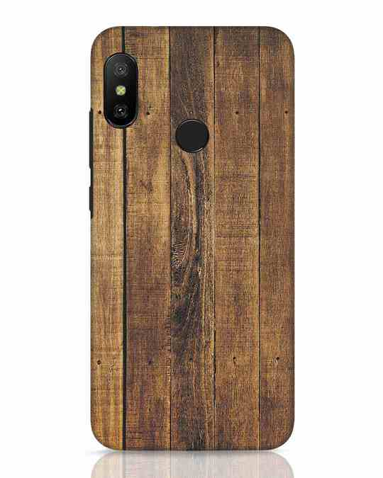 Shop Teak Xiaomi Redmi 6 Pro Mobile Cover-Front