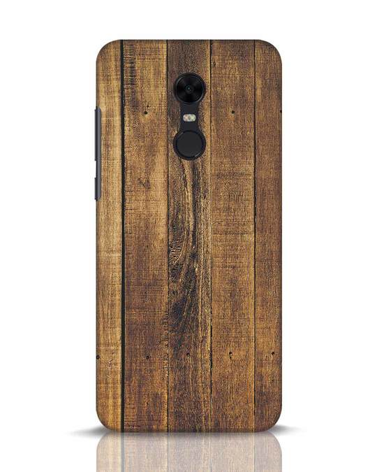 Shop Teak Xiaomi Redmi Note 5 Mobile Cover-Front