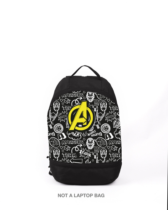 Shop Team A Printed Mini Small Backpacks-Front