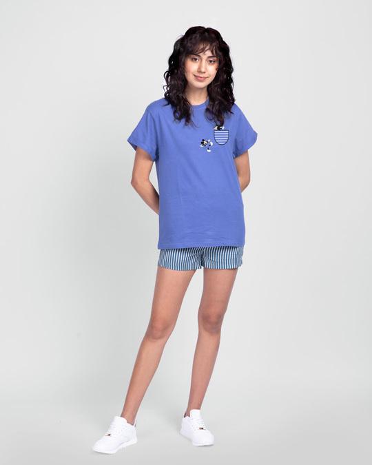 Shop Teasing Mickey Boyfriend T-Shirt (DL)