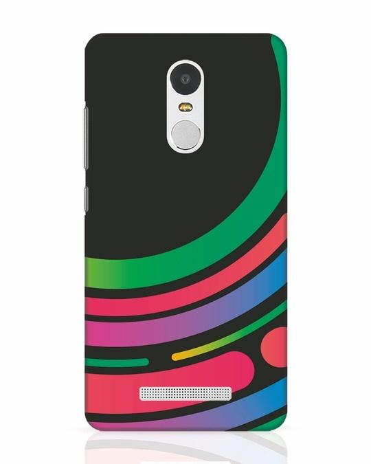 Shop Techno Colors Xiaomi Redmi Note 3 Mobile Cover-Front
