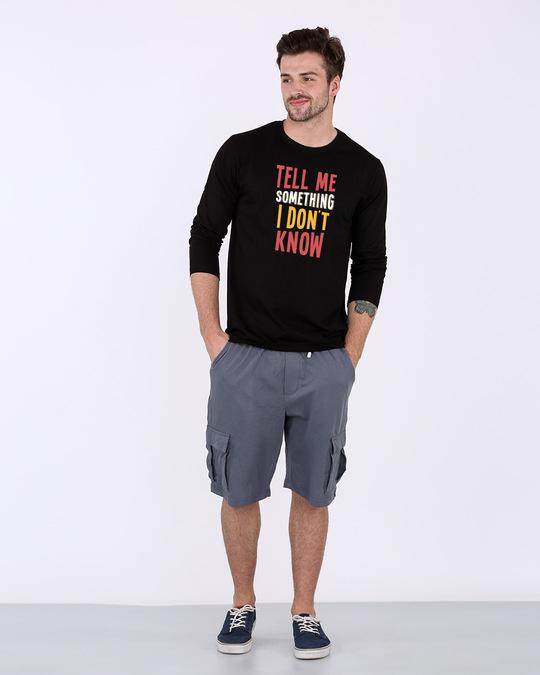 Shop Tell Me Something Full Sleeve T-Shirt
