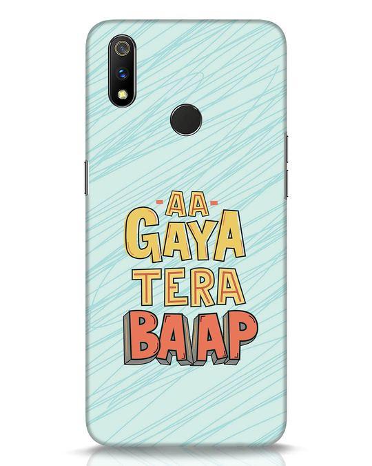 Shop Tera Baap Realme 3 Pro Mobile Cover-Front