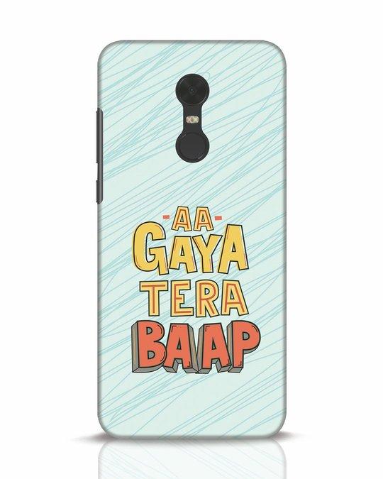 Shop Tera Baap Xiaomi Redmi Note 5 Mobile Cover-Front