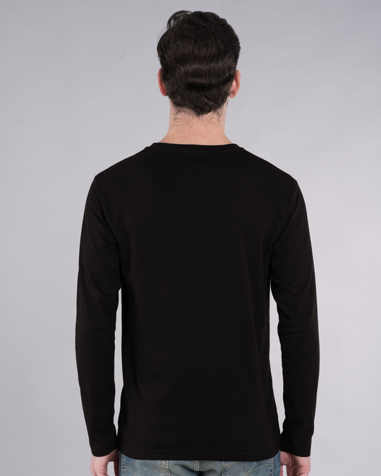 Shop Tera Bhi Katega Full Sleeve T-Shirt-Back