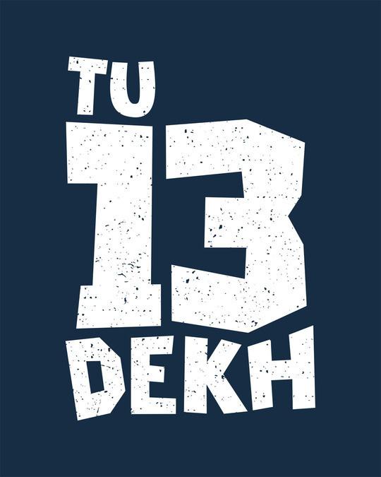 Shop Tera Dekh Round Neck 3/4th Sleeve T-Shirt