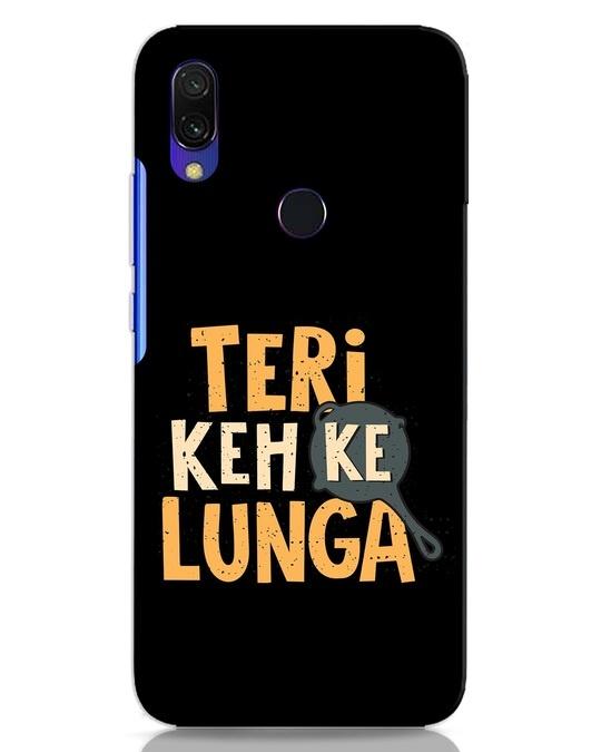 Shop Teri Keh Ke Lunga Xiaomi Redmi 7 Mobile Cover-Front