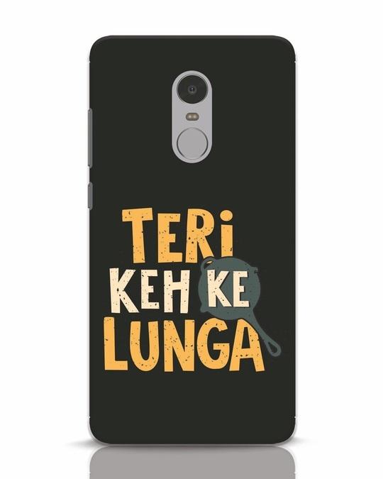 Shop Teri Keh Ke Lunga Xiaomi Redmi Note 4 Mobile Cover-Front