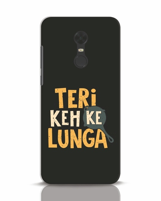 Shop Teri Keh Ke Lunga Xiaomi Redmi Note 5 Mobile Cover-Front