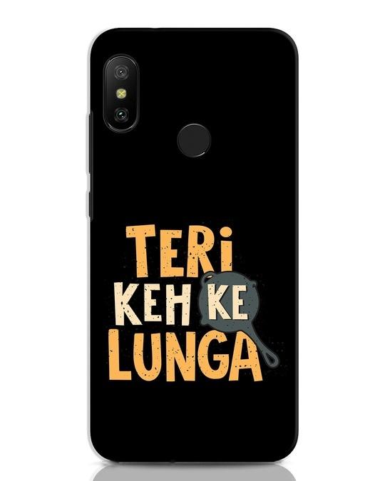 Shop Teri Keh Ke Lunga Xiaomi Redmi Note 6 Pro Mobile Cover-Front