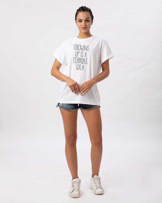 Shop Terrible Idea Boyfriend T-Shirt-Full