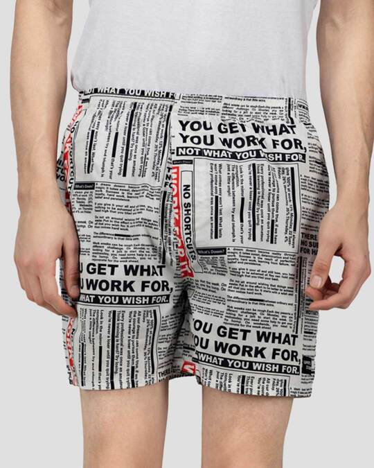 Shop   Text Boxers Combo (Pack Of 2)-Design