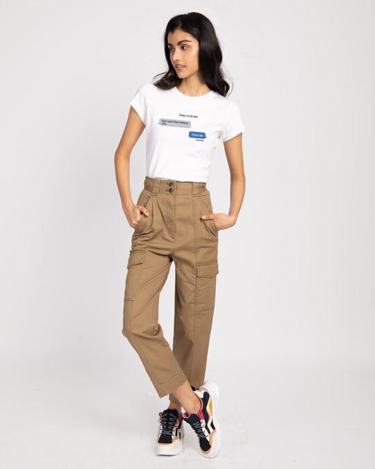 Shop Texting 12am Half Sleeve T-Shirt-Design