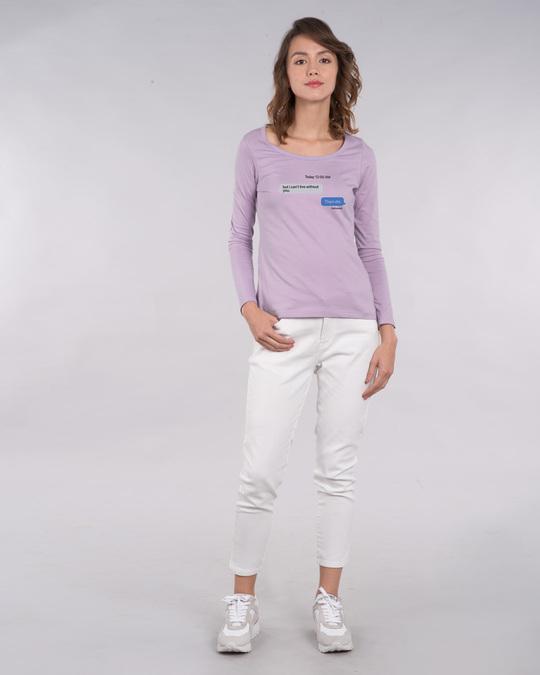 Shop Texting 12am Scoop Neck T-Shirt-Design