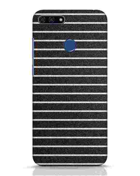 Shop Textured Stripes Huawei Honor 7A Mobile Cover-Front