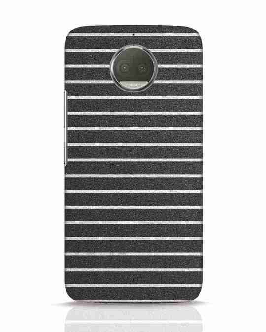 Shop Textured Stripes Moto G5s Plus Mobile Cover-Front