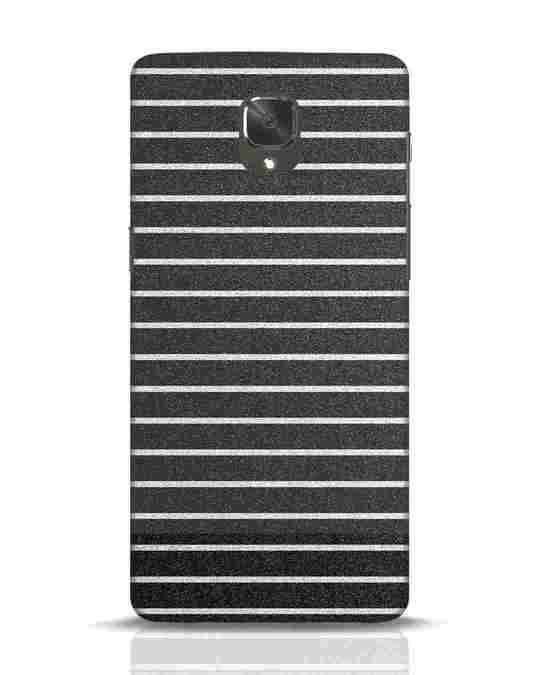 Shop Textured Stripes OnePlus 3 Mobile Cover-Front