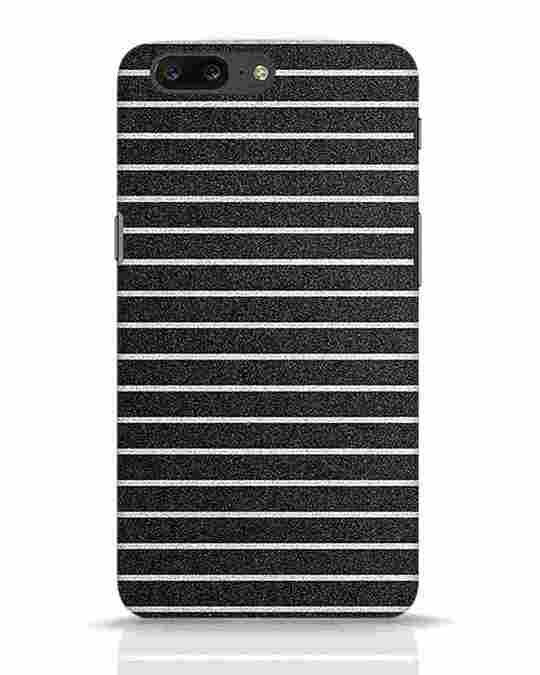 Shop Textured Stripes OnePlus 5 Mobile Cover-Front