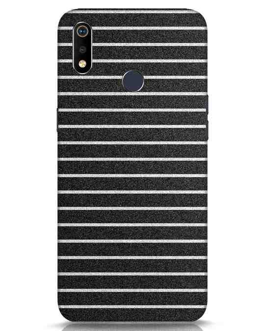 Shop Textured Stripes Realme 3i Mobile Cover-Front