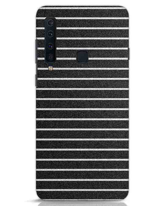 Shop Textured Stripes Samsung Galaxy A9 2018 Mobile Cover-Front