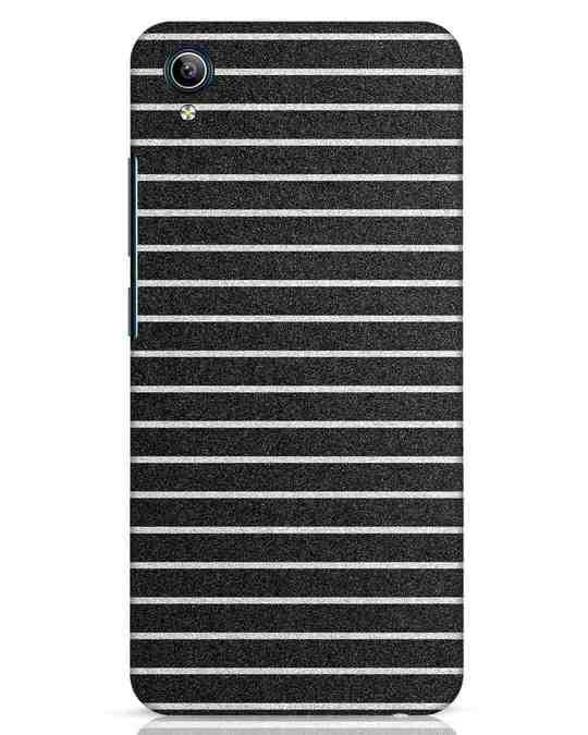 Shop Textured Stripes Vivo Y91i Mobile Cover-Front