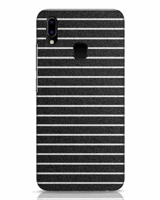 Shop Textured Stripes Vivo Y93 Mobile Cover-Front