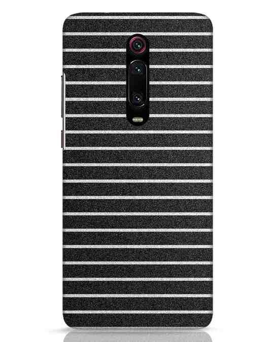 Shop Textured Stripes Xiaomi Redmi K20 Mobile Cover-Front