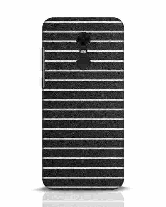 Shop Textured Stripes Xiaomi Redmi Note 5 Mobile Cover-Front