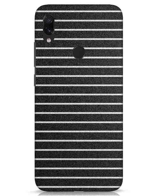 Shop Textured Stripes Xiaomi Redmi Note 7s Mobile Cover-Front