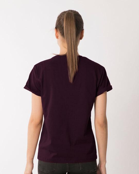 Shop Textured Yin Yang Boyfriend T-Shirt-Full