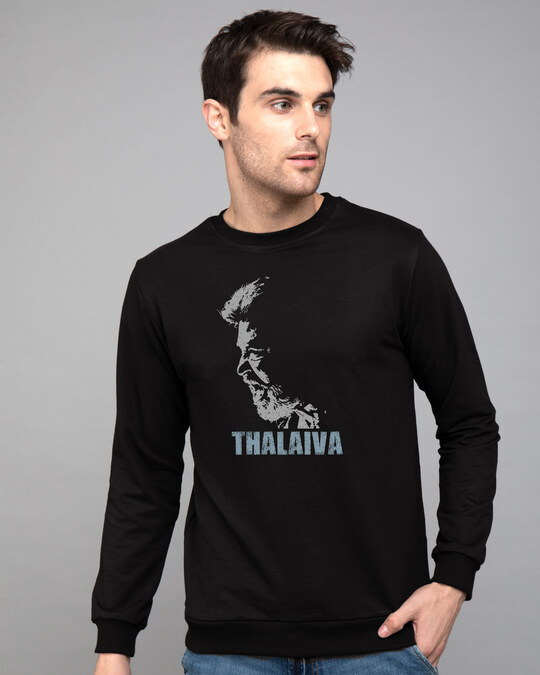 Shop Thalaiva Fleece Light Sweatshirt-Front