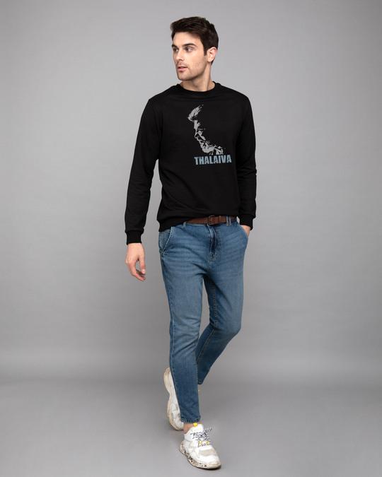 Shop Thalaiva Fleece Light Sweatshirt-Design