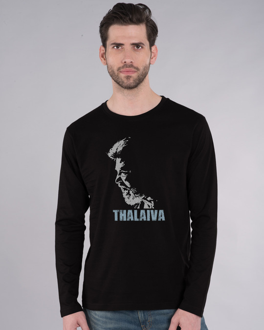 Shop Thalaiva Full Sleeve T-Shirt-Front